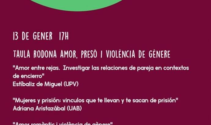 Taula rodona: Amor, presó i violència de gènere