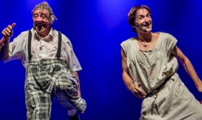 Espectacle de Poltrona i Pla, una de les propostes per Setmana Santa / Font: Teatre Barcelona