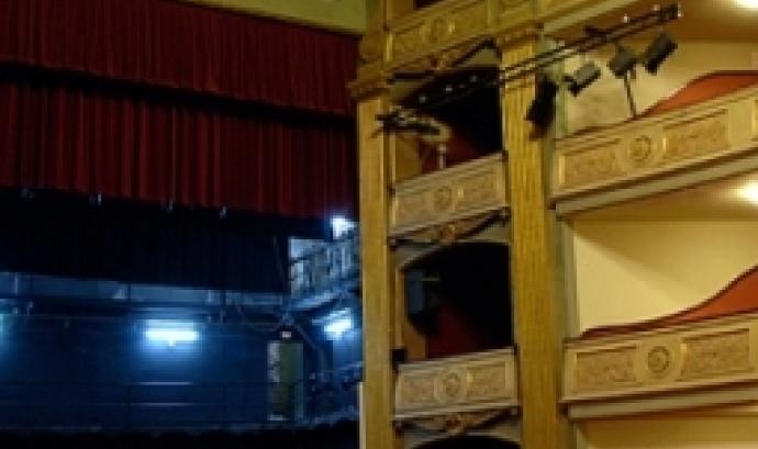 Imatge del teatre des de dins