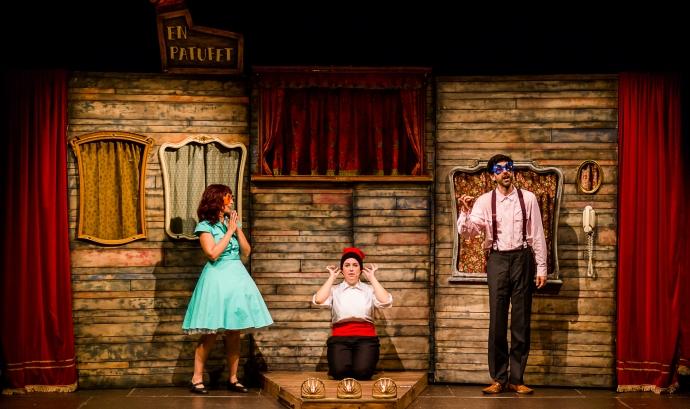 En patufet (i els seus pares), de Teatre Nu. Font: Txus Garcia