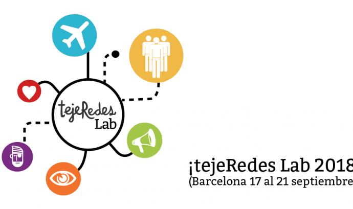 Cartell de la trobada tejeRedes Lab 2018
