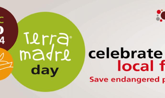 Reivindica l'alimentació local, en el Terra Madre Day, 10 de desembre Font: