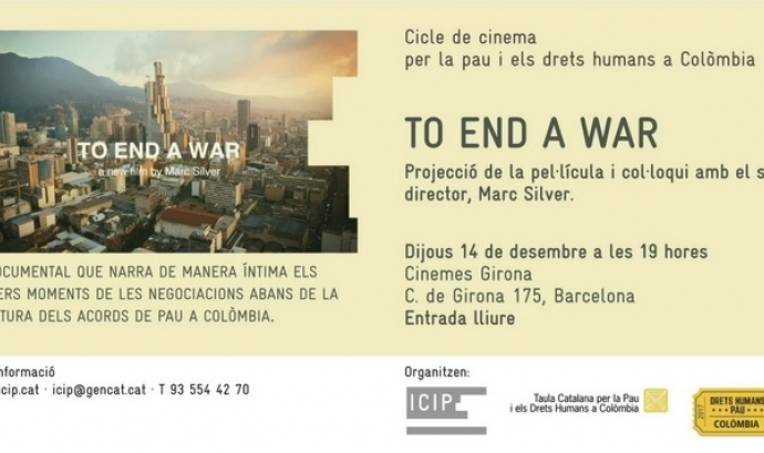 Cartell de l'esdeveniment. Font: ICIP