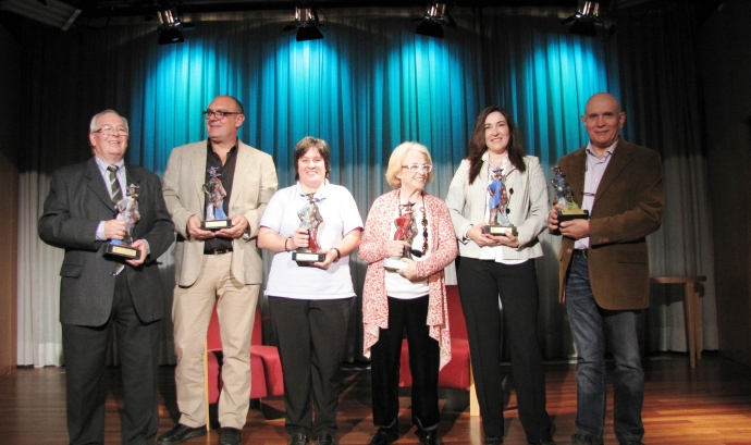 Imatge de tots els premiats Font:
