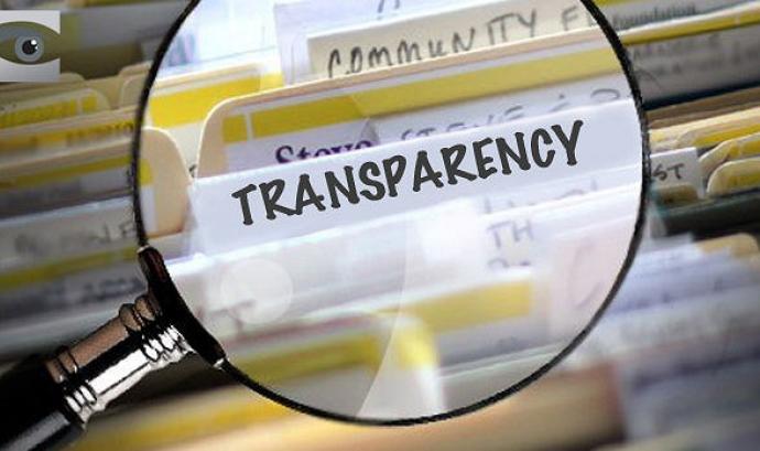 Transparència a les entitats. Font: Wikimedia