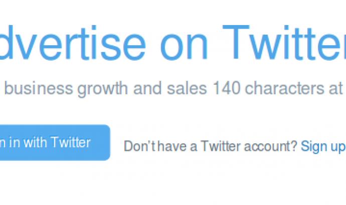 Amb Twitter Ads podreu programar piulades des de Twitter! Font: