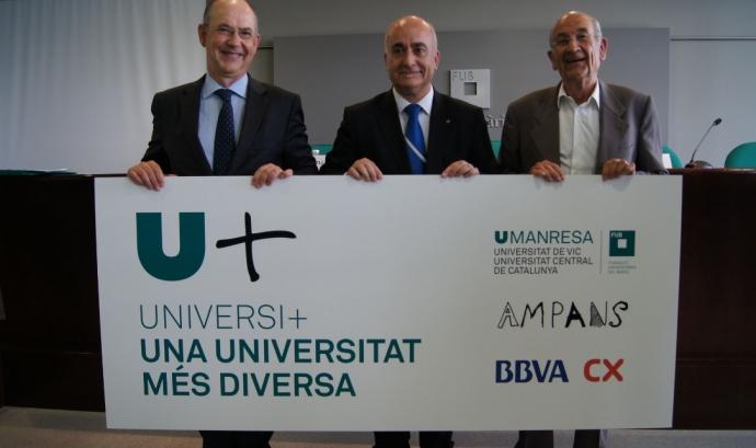 La iniciativa contribuirà a la normaltizació de la presència de persones amb necessitats de suport en la comunitat universitària. Foto: social.cat. Font: