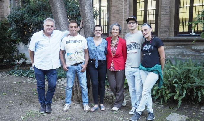 Membres de l'UPRC. Foto: César Marcos. Font: UPRC - César Marcos