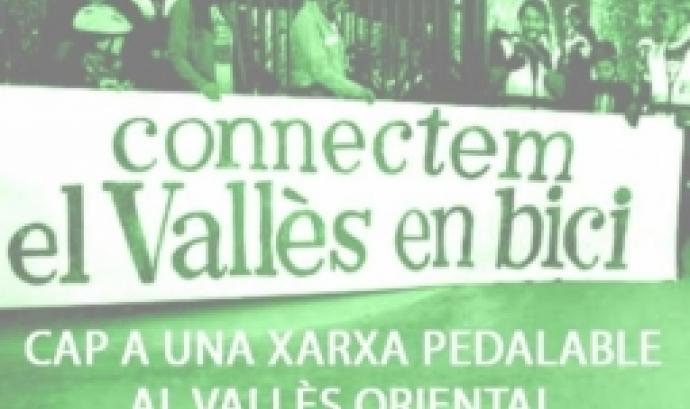 Acte de presentació de la Xarxa Pedalable al Vallès Oriental a Granollers