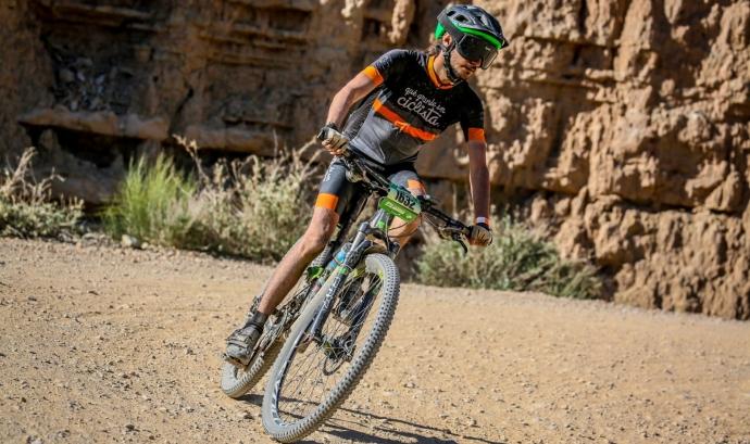 Actualment, en Víctor es prepara per competir a la cursa de bicicleta de muntanya més dura del món. Font: Víctor González. Font: Font: Víctor González.