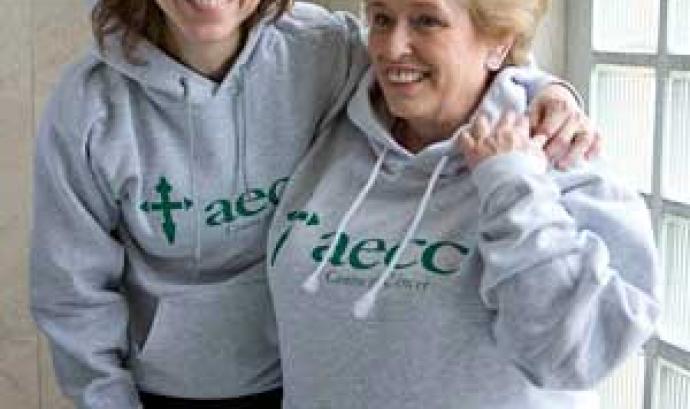 Voluntàries contra el càncer. Font: AECC