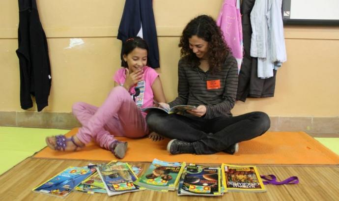 Voluntariat socioeducatiu CROMA de la FAS (Font: FAS) Font: