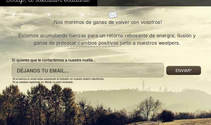 Captura de pantalla de Weelp Font: