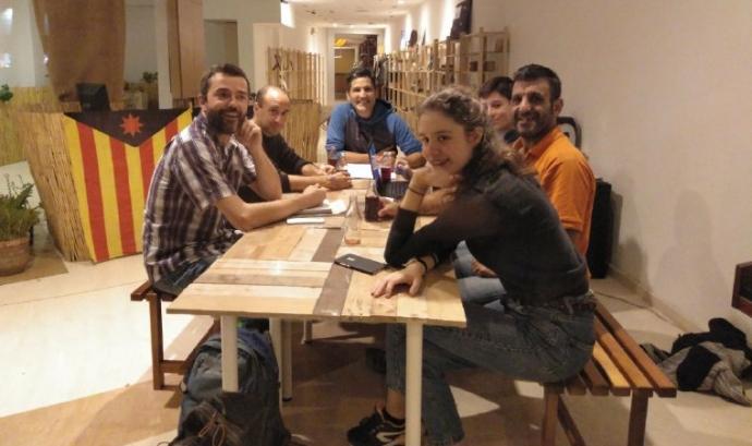 Foto de participants en el projecte