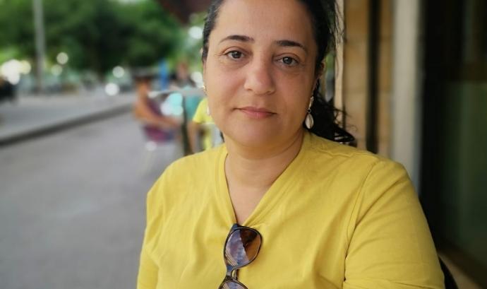 Paqui Perona, presidenta de Veus Gitanes Font: Sofia Albiol