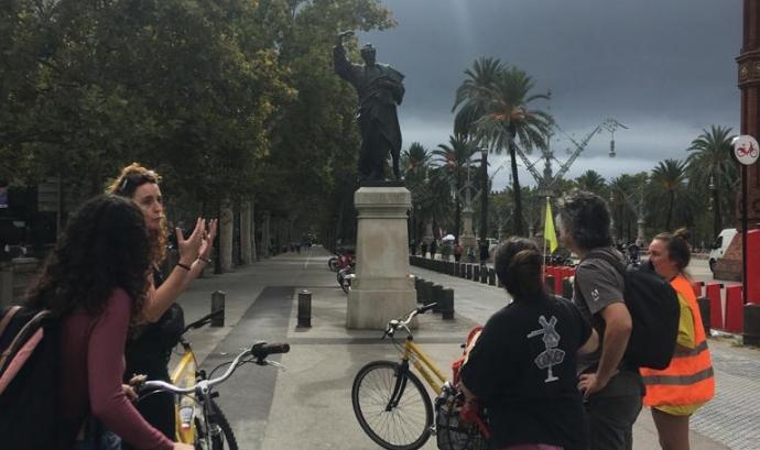 Feminismes sobre rodes (Biciclot i Trama) Font: Biciclot i Trama