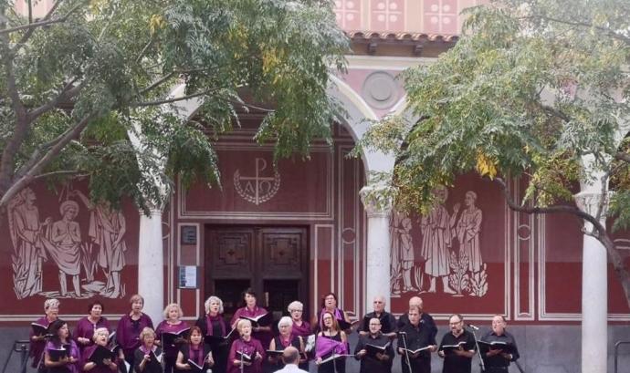 Concert de Festa Major d'estiu de Viladecans (Setembre 2019) Font: Coral La Lira Viladecans