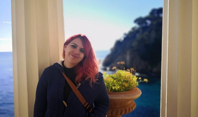 La Laura va trobar una sortida en el món del lleure gràcies a Batibull. Font: Associació Batibull