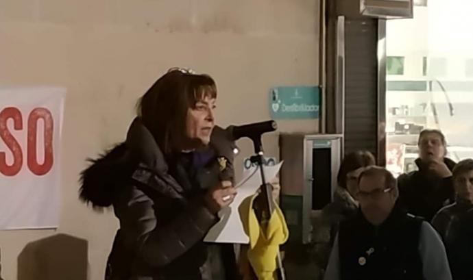 Anna Ariño és integrant del Grup Feminista de Ponent, també conegut com a Grup de Dones de Lleida, un col·lectiu feminista transversal. Font: Grup de Dones de Lleida