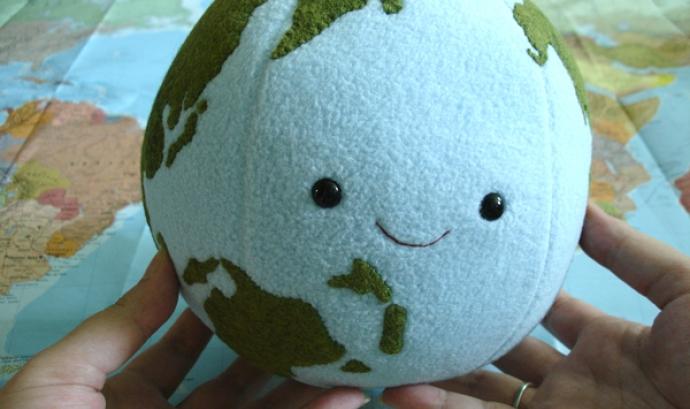 Bola del món. Font: Deviantart.com