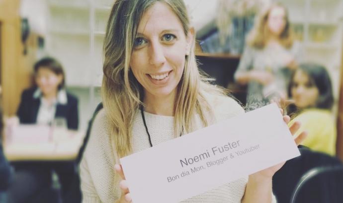 Noemí Fuster, 'youtuber' solidària del canal BonDiaMon. Font: BonDiaMon