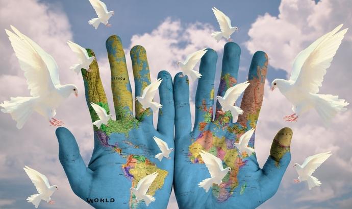 Conferència sobre Recursos d'educació per la Pau. font: Pixabay