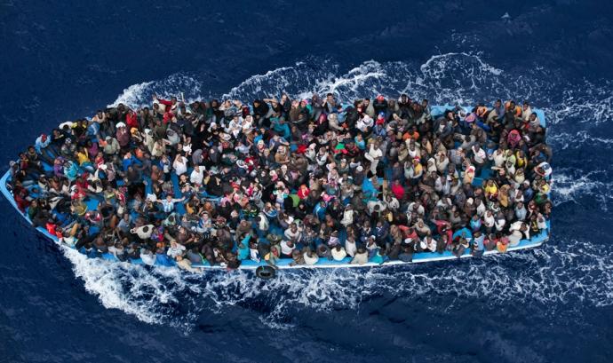 Imatge del World Press Photo 2015 de Massimo Sestini / Font CCCB