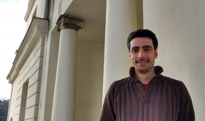 Xavier Oller, tècnic de l'àrea de Formació de Torre Jussana i un dels impulsors dels debats Edcamp sobre associacionisme i voluntariat.