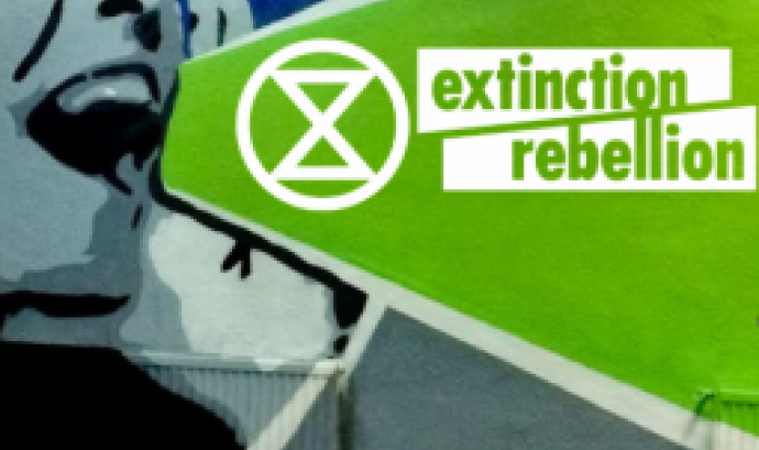 El 21 de març a les 17.30 h  es presenta Extintion Rebellion a Barcelona