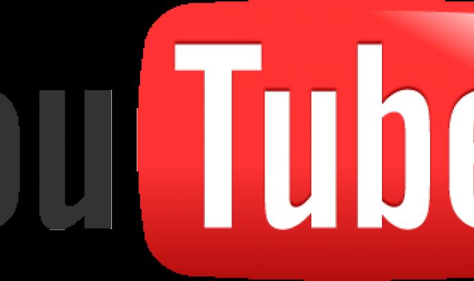 Logotip de Youtube Font: