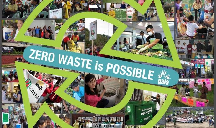Les iniciatives Residu Zero estan agrupades en la Zero Waste International Alliance (GAIA) ( imatg : zwia.org)  Font: