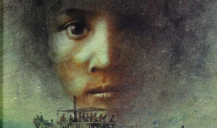Ziba vino en un barco, de Liz Lofthouse / Font: Logudez Ediciones