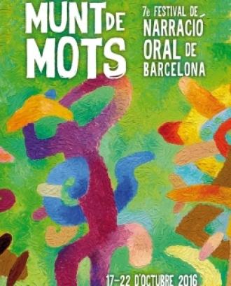 Cartell del Festival Munt de Mots