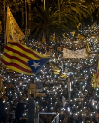 Manifestació per la Independència de Catalunya