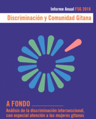 Portada de l'informe 'Discriminació i comunitat gitana 2018'