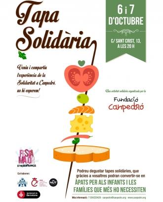 Tapa Solidària 2017!