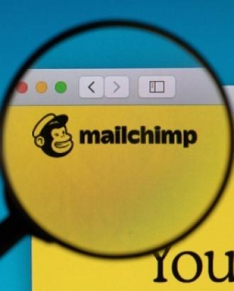 Captura de pantalla d'una pàgina de Mailchimp. Imatge de l'usuari de Flickr Marco Verch. Llicència d'ús CC BY 2.0