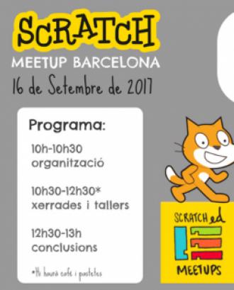 4a Trobada ScratchEd Meetup Barcelona. Font: www.meetup.com