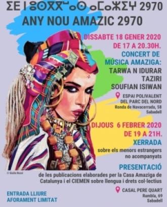 Celebració del Cap d'Any amazic a Sabadell