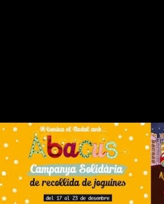 Campanya solidària Abacus. Font: web Abacus