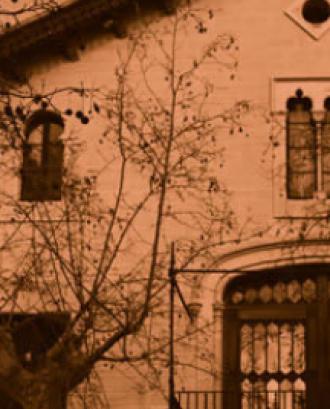 Fragment de la façana de la seu de la fundació