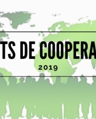 Ajuts de cooperació del Col·legi Oficial de Treball Social de Catalunya 2019