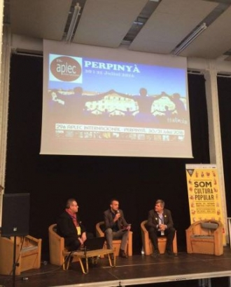 Presentació 29è Aplec Internacional a Perpinyà (gener, 2015. Som Cultura Popular)