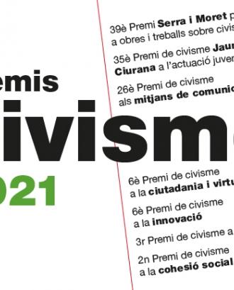 Convocats els Premis de Civisme 2021