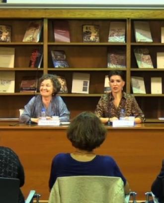 Bel Olid apadrina les trobades a la Biblioteca de Catalunya