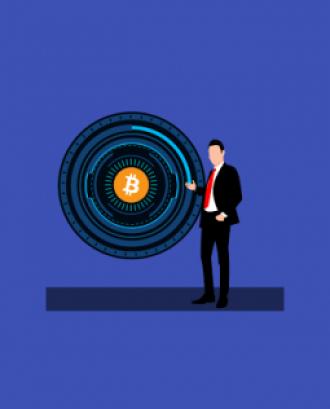 Bitcoin en una caixa fort