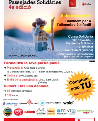 4a edició passejades solidàries a Girona