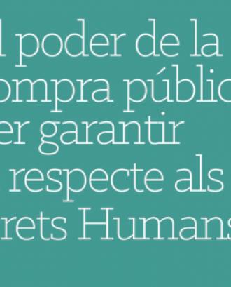 Formació sobre compra pública i drets humans