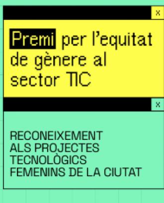1a edició del Premi Bcn Fem Tech per l'equitat de gènere al sector TIC, 2021