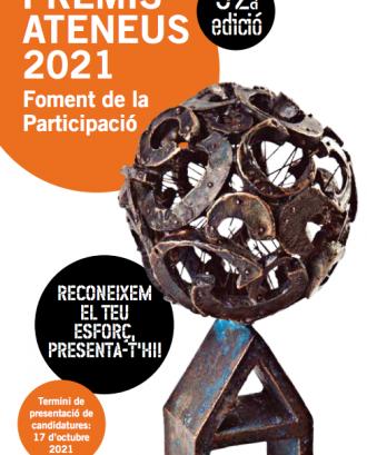 Premis Ateneus 2021   Premi al Foment de la Participació